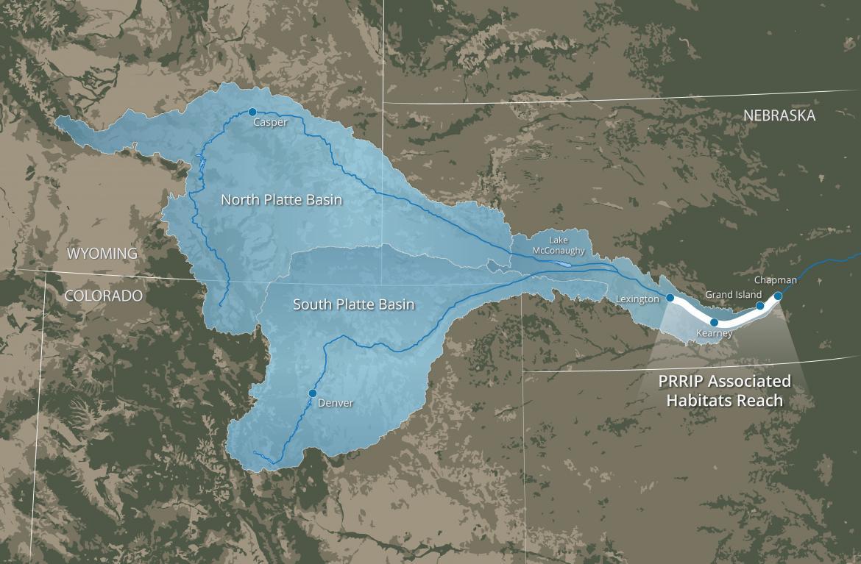 Associated Habitats Reach Map - Platte River Recovery Implementation Program